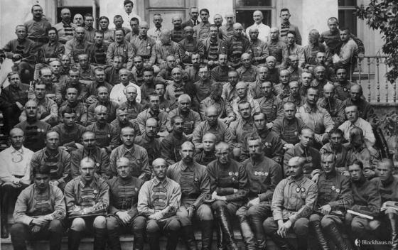 Фабрициус среди командиров РККА, 20-е годы.