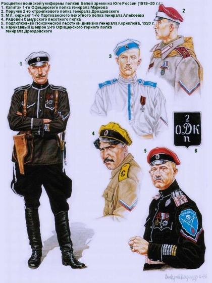 фото 11. Белая армия.