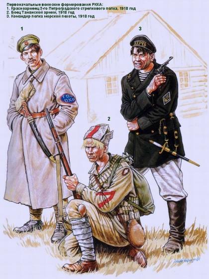 фото 8. Красная армия.