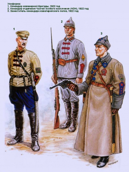 фото 1. Красная армия.