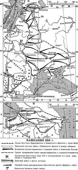 Первая мировая война. Кампания 1918 года.