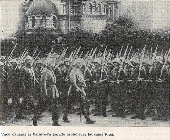 Vacieši Rīgā 1917g. septembrī