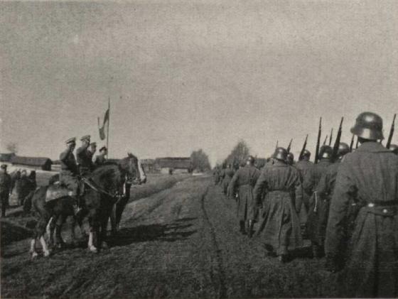 Landeswehr Parade 1920