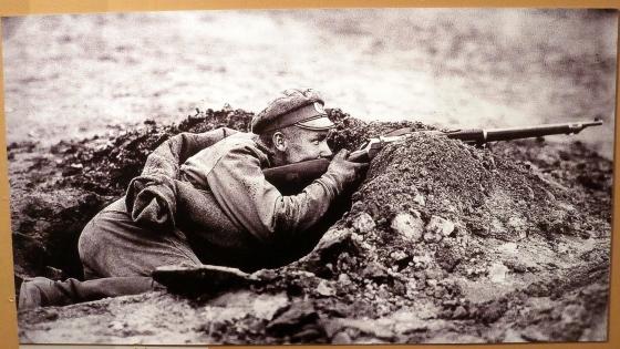 Latviešu strēlnieks, 1916g.