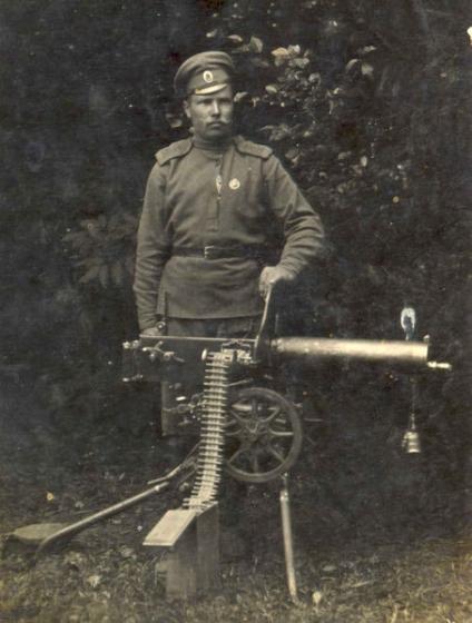 2-й ЛС Рижский полк, пулемёт Maxim