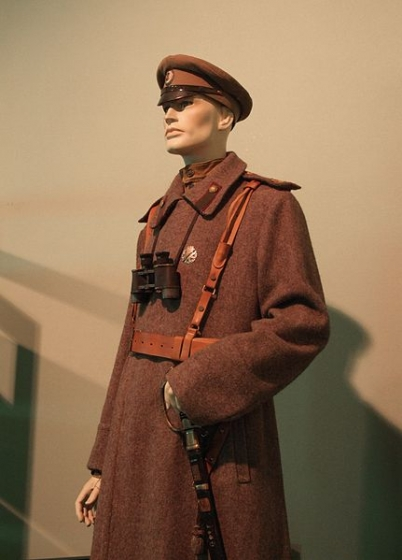 Униформа латышского стрелка 1916, из экспозиции Военного музея, Рига