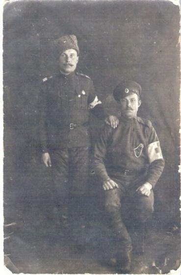 4-го латышского стрелкового Видземского полка санитары
