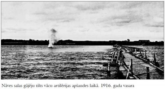 Naves sala 1916. Tilts