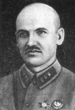 Командир 8-го латышского стрелкового полка Г. Бокис