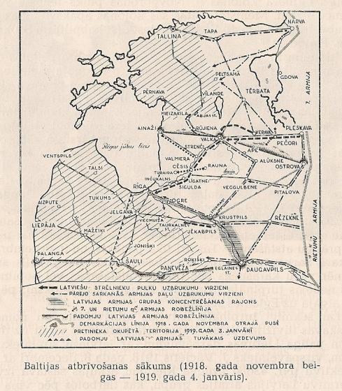 Baltijas atbrīvosana sākums 1918-1919