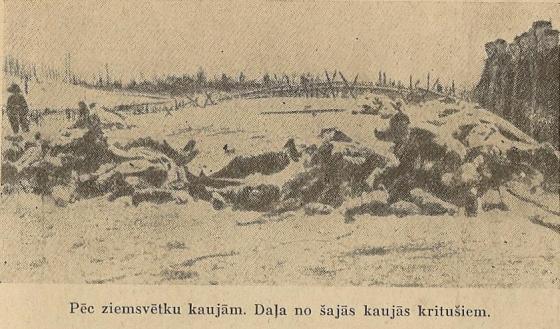 Rīgas frontē kritušie 1917g