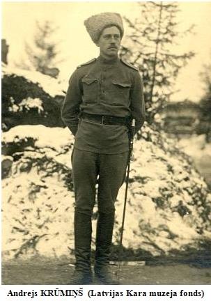 Andrejs KRUMINS (Latvijas Kara muzeja fonds)