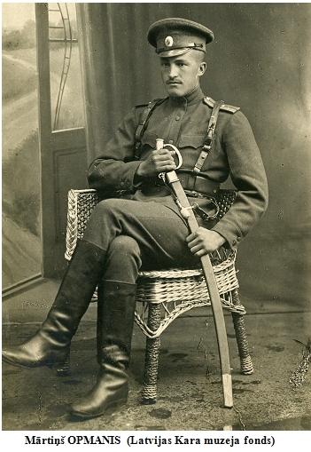 Martins OPMANIS (Latvijas Kara muzeja fonds)