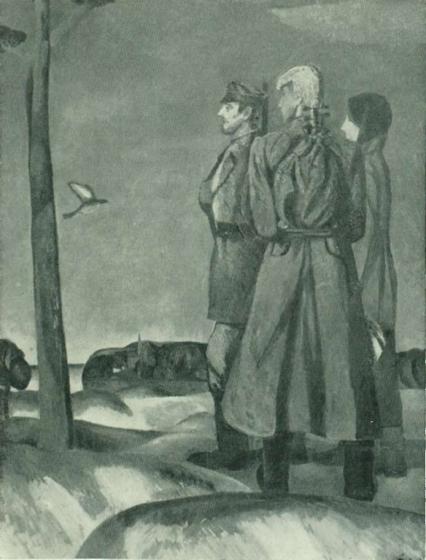 И. Заринь. Родина (По заветам Ильича). 1969 Холст, масло. Министерство культуры СССР.
