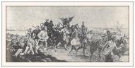 """J.Birzgal """"Mēs vēl atgriezīsimies"""" (latviešu strēlnieki atstāj Rīgu 1919. g. 22. maijā)"""