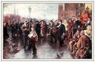 В. Кирилов «Ленин в Риге, 1900г.»