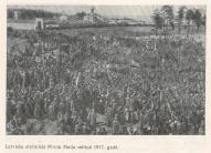 Латышские стрелки на митинге 1 мая 1917 года