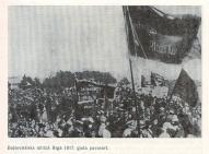 Большевисткий митинг в Риге весной 1917 года