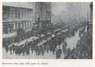 Похороны коммунаров 14 января 1919 года в Риге