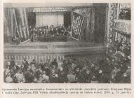 Объединённый Советский Конгресс латышских рабочих, безземельных и солдатских депутатов, 13 января 1919 года, в Первом Рижском театре.