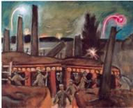 Jāzeps Grosvalds. Strēlnieki ierakumos. (1917)