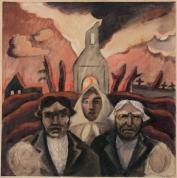 """Язепс Гросвалдс. """"Беженцы"""" (1916 г.)"""
