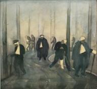"""Язепс Гросвалдс. """"Аллея ужасов"""" (1916 г.)"""