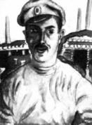 Jāzeps Grosvalds. Strēlnieks pie blindāžām