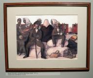 """Курземские беженцы на рижском вокзале"", 1915г."