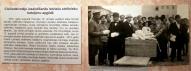 Валмиерская городская делигация вручает подарки 8-у Валмиерскому латышскому стрелковому полку в Риге, 12.06.1916.