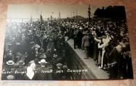 Проводы добровольцев - латышских стрелков, набережная Даугавы, Рига, 13 августа 1915 года,