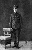 Fridrihs Briedis (1888.-1918.) - 1. Daugavgrīvas latviešu strēlnieku pulka kapteinis. 1916. gads. открытое письмо