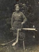 2. Rīgas latviešu strēlnieku bataljona strēlnieks, Maxim ložmetejs