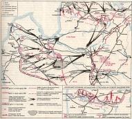 Карта боевых действий 1919г.