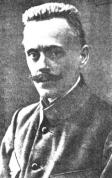 Strēlnieku IK loceklis Kārlis Pētersons, kuŗa uzstāšanās radīja lielu ievērību II  padomju kongresā oktobŗa revolūcijas dienās.