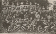 Выпуск военного училища Советской Латвии 1919