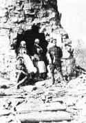 2. Rīgas latviešu strēlnieku pulka uz priekšu izvirzīts pārsiešanas punkts Nāves salā vai Ķekavas rajonā 1916.g. pavasarī.