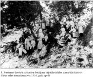 3. Kurzemes latviesu strelnieku bataljona kajnieku izluku komandas karaviri.