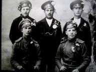 Добровольцы 3-го Курземского батальона