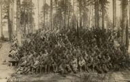 109-я маршевая рота в районе Валмиеры. Датировано - 19 мая 1917-го года.