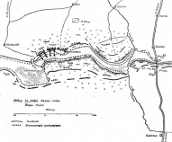 Карта рижского фронта, июль 1916