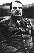 XII armijas komandieris ģen. Radko-Dimitrijevs. (Avots - Latviešu strēlnieki I, Rīgā, 1919)