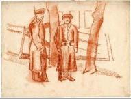 """""""Strēlnieki Kremlī"""", Voldemārs Andersons 1918"""