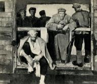 """Г. Клебах, И. Заринь """"Латышские стрелки"""", 1957."""
