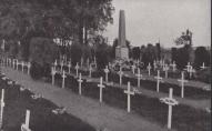 I pasaules karā un brīvības cīņās kritušo karavīru kapi Valmierā 30.gados