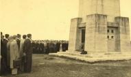 Nāves salā 1937.gada septembrī kritušos latviešu strēlniekus pieminot