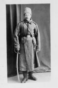 Latviešu strēlnieks Leonards Gruzītis. 1916.g.