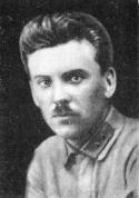 Комиссар Латышской стрелковой советской дивизии К. Дозитис