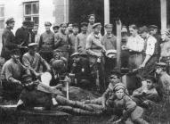 Стрелки 18-го стрелкового полка Советской Латвии