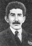 Начальник политотдела XV армии Я. Ленцманис